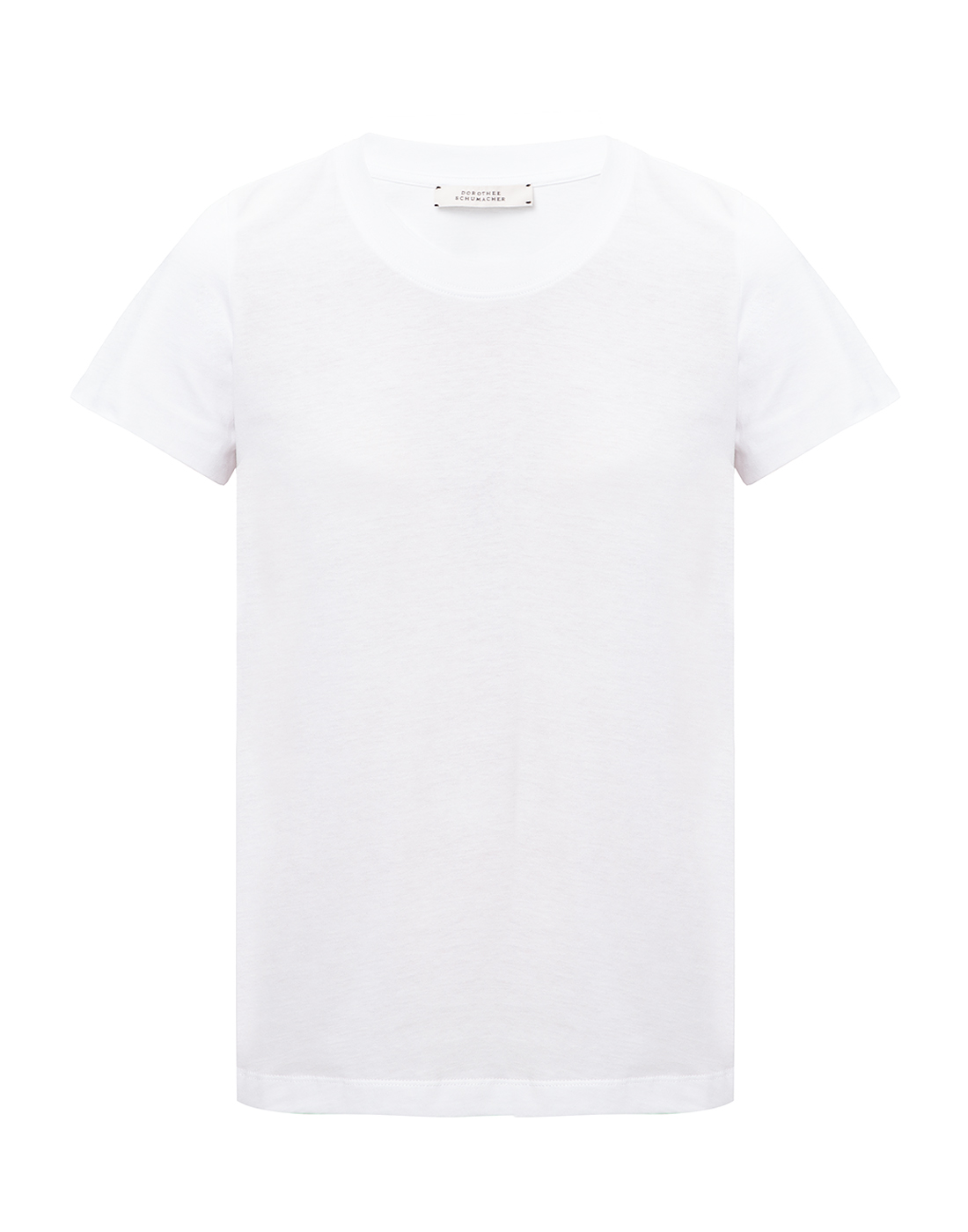 Женская белая футболка Dorothee Schumacher S623001/100-1