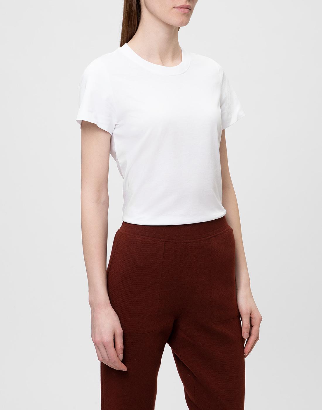Женская белая футболка Dorothee Schumacher S623001/100-3