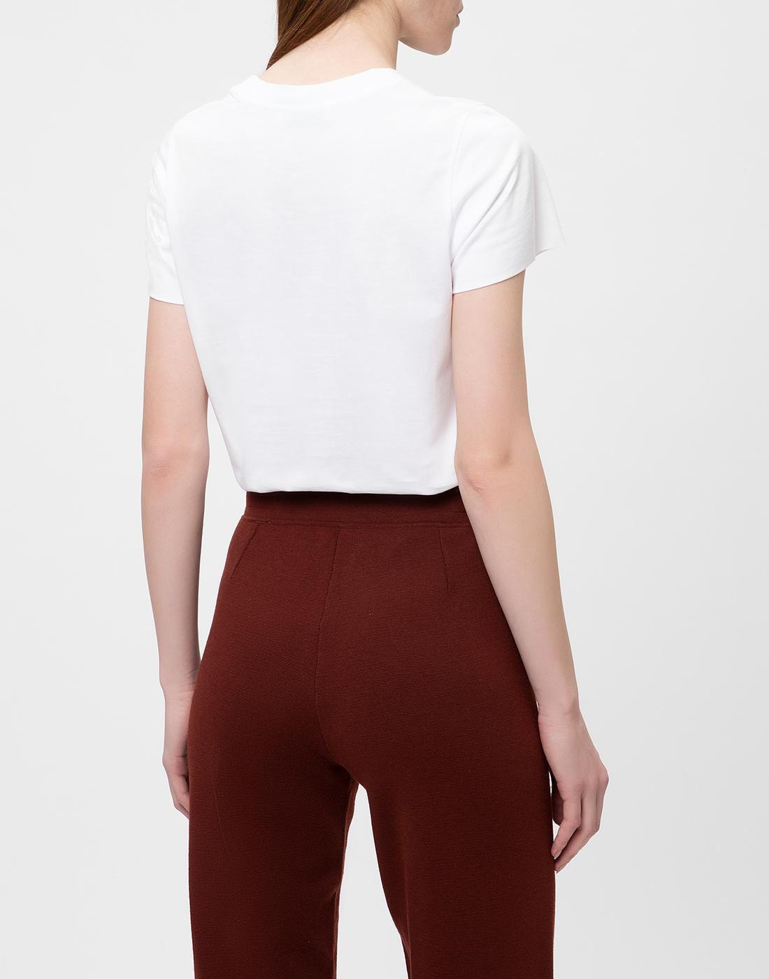 Женская белая футболка Dorothee Schumacher S623001/100-4