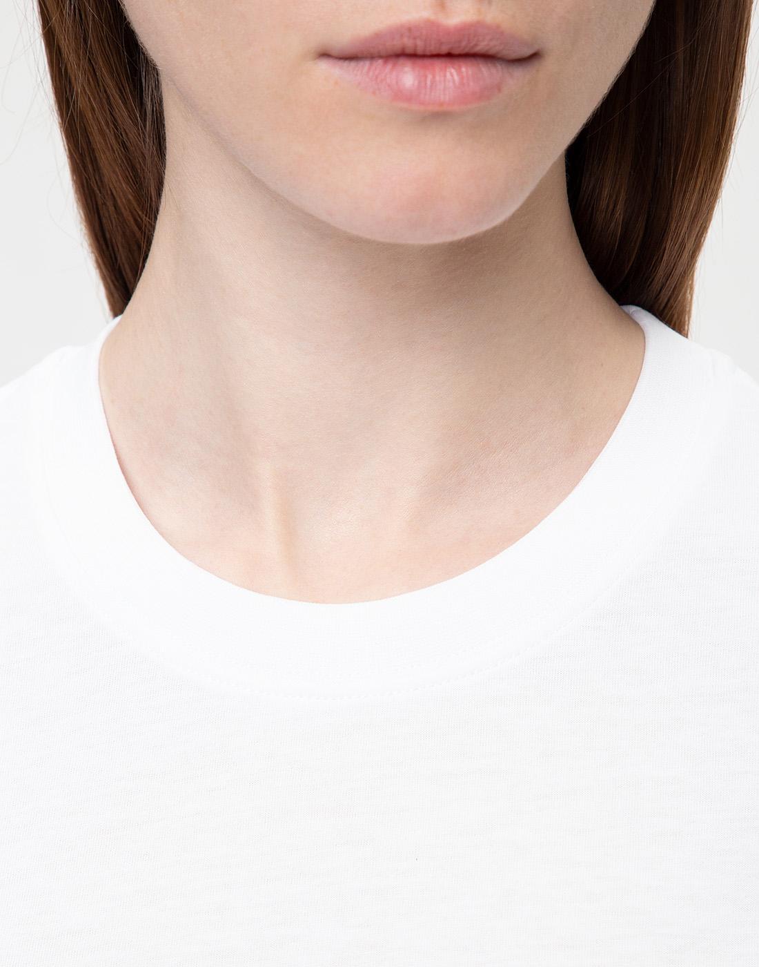 Женская белая футболка Dorothee Schumacher S623001/100-6