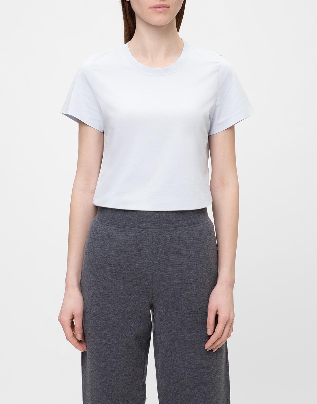 Женская голубая футболка  Dorothee Schumacher S623001/801-2