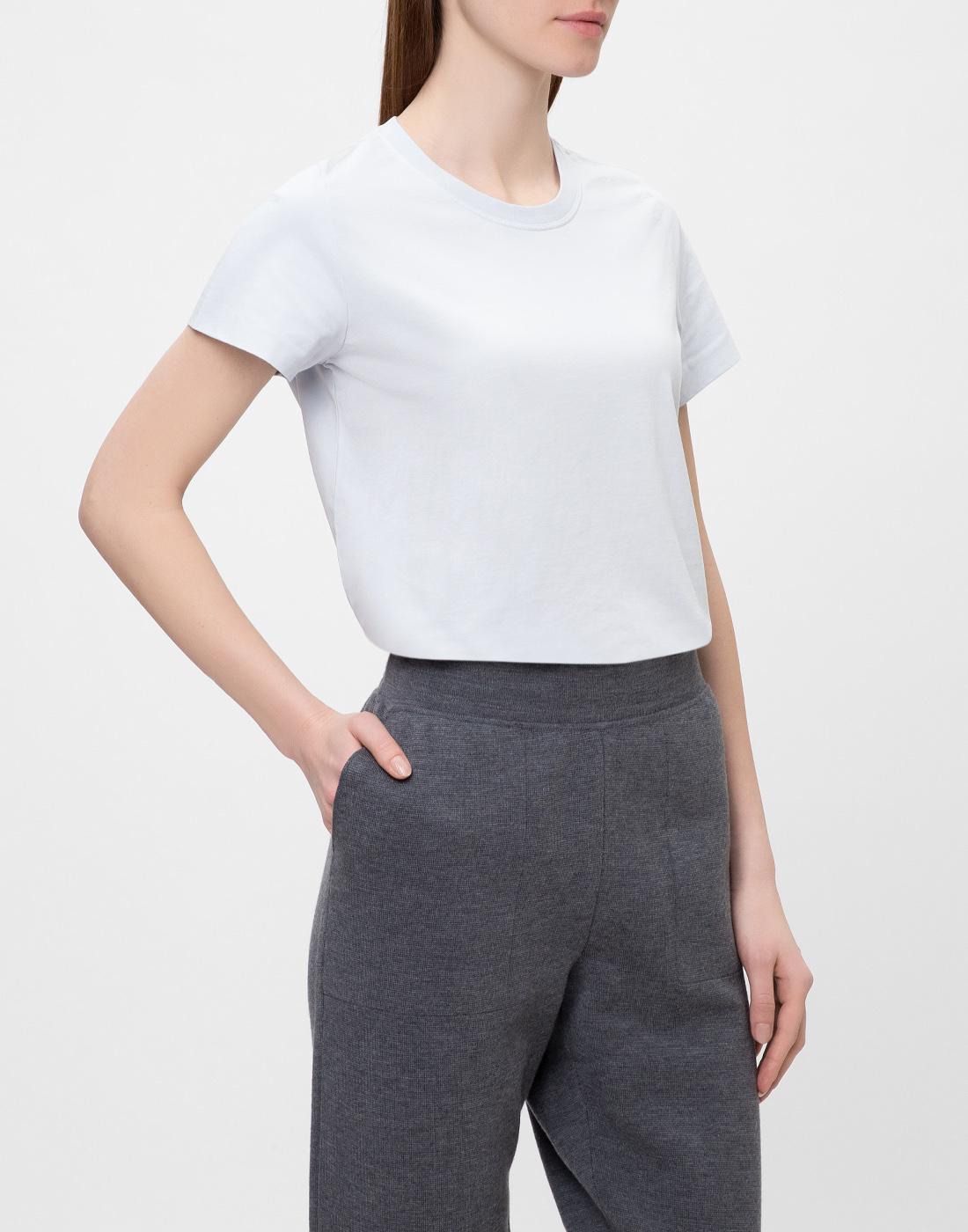 Женская голубая футболка  Dorothee Schumacher S623001/801-3