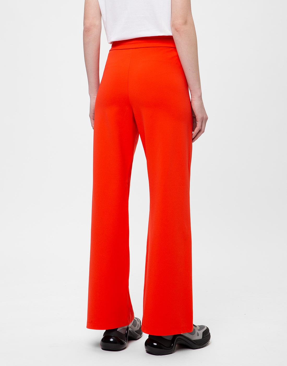 Женские красные брюки Dorothee Schumacher S626012/434-4