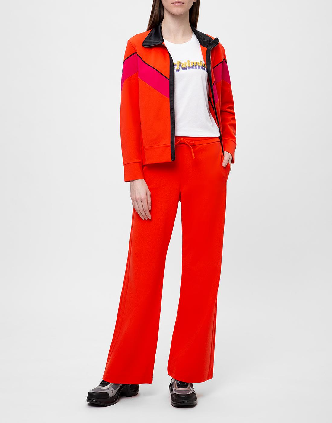 Женские красные брюки Dorothee Schumacher S626012/434-5
