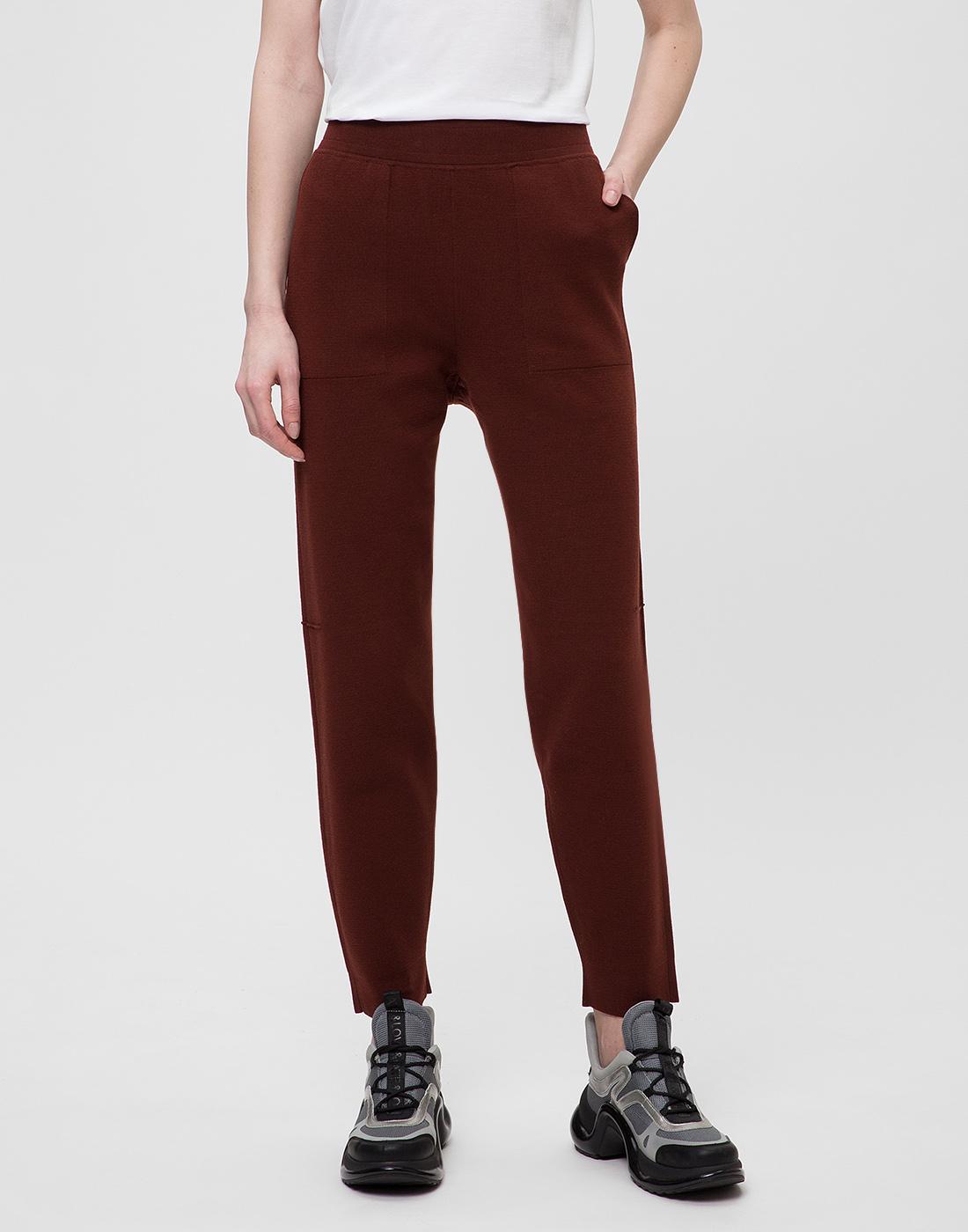 Женские коричневые брюки Falke Fashion S64033/5965-2