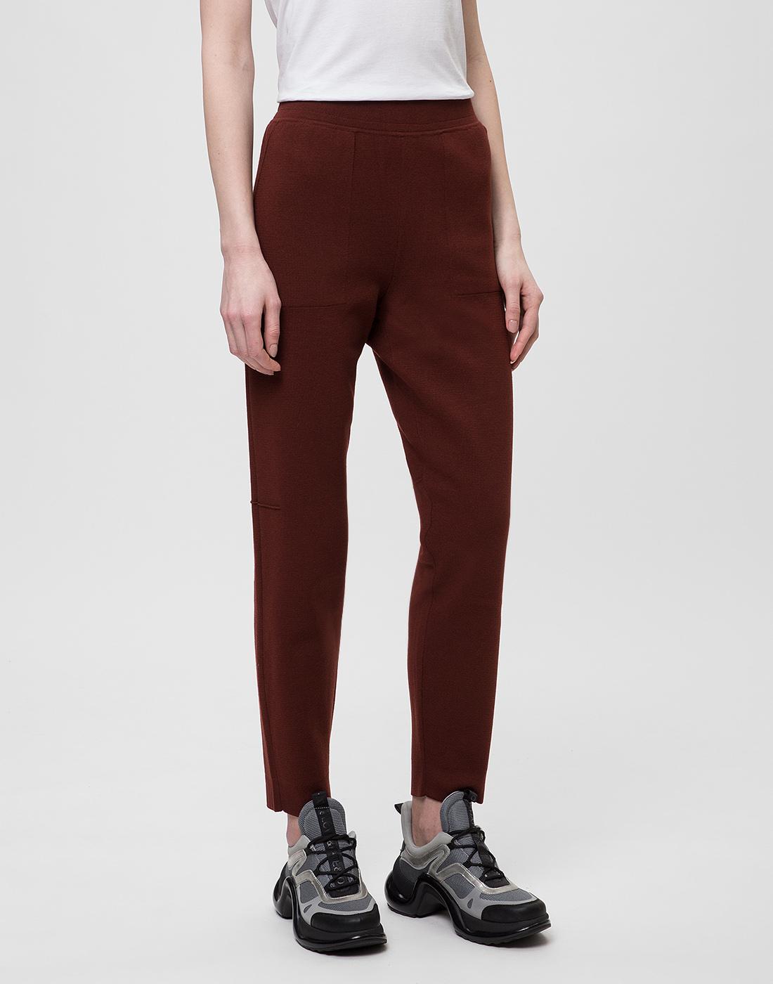 Женские коричневые брюки Falke Fashion S64033/5965-3