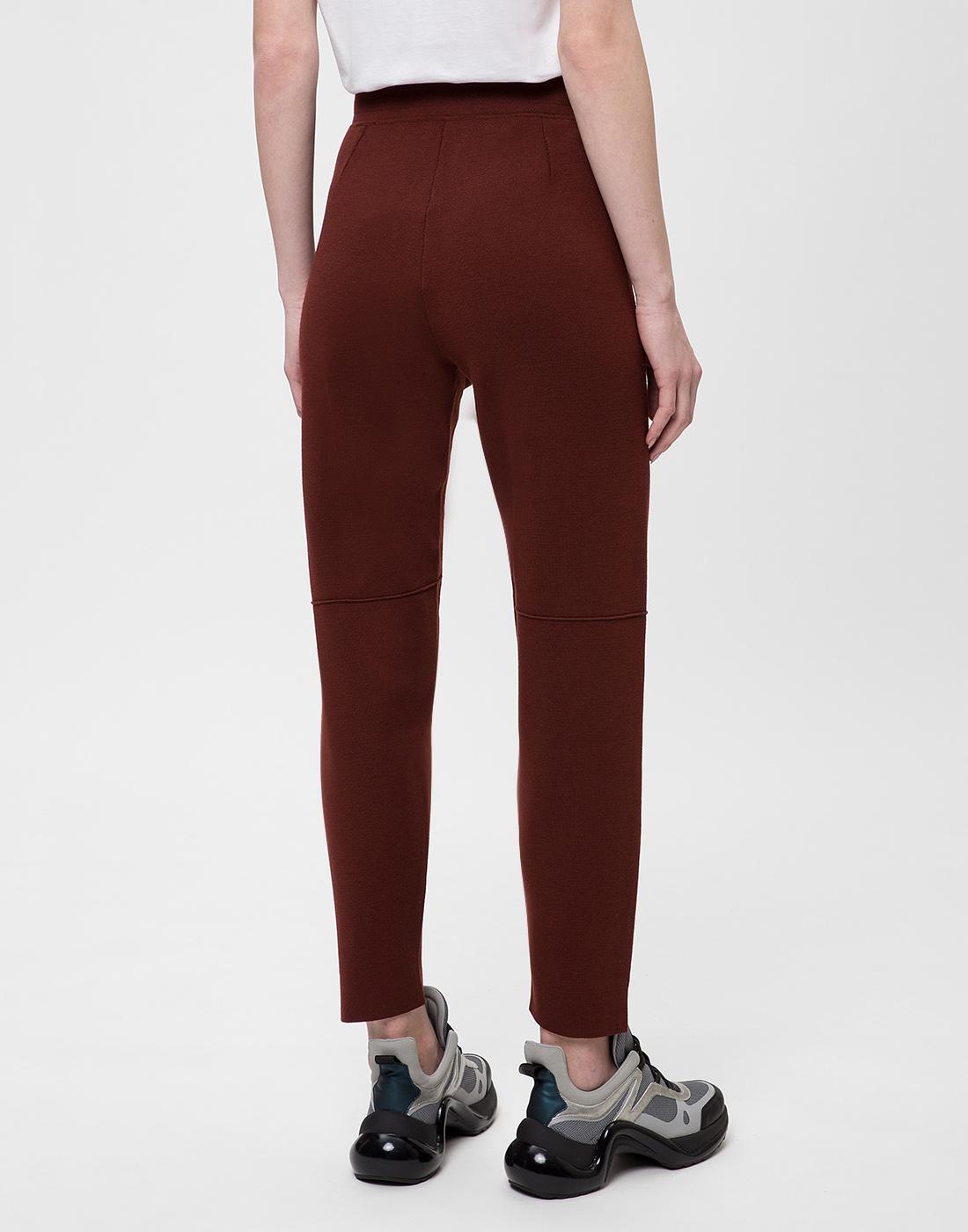 Женские коричневые брюки Falke Fashion S64033/5965-4