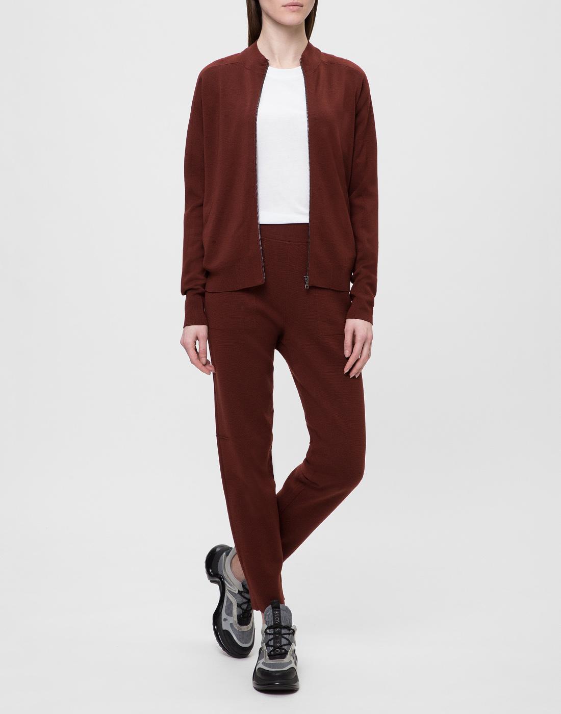Женские коричневые брюки Falke Fashion S64033/5965-5