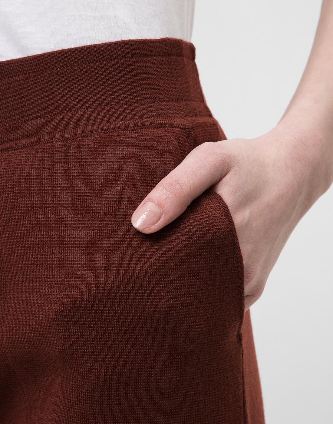 Женские коричневые брюки Falke Fashion S64033/5965-6