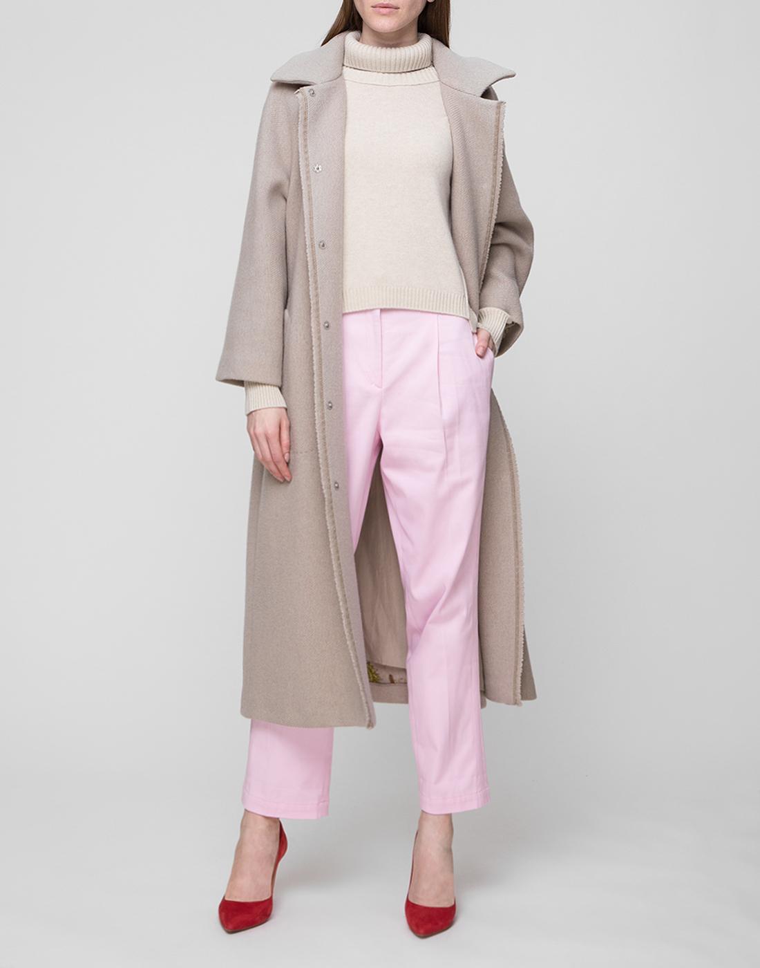 Женские розовые брюки Dorothee Schumacher S640403/421-5