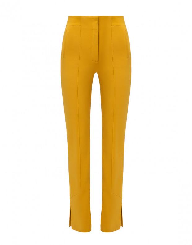 Женские горчичные брюки