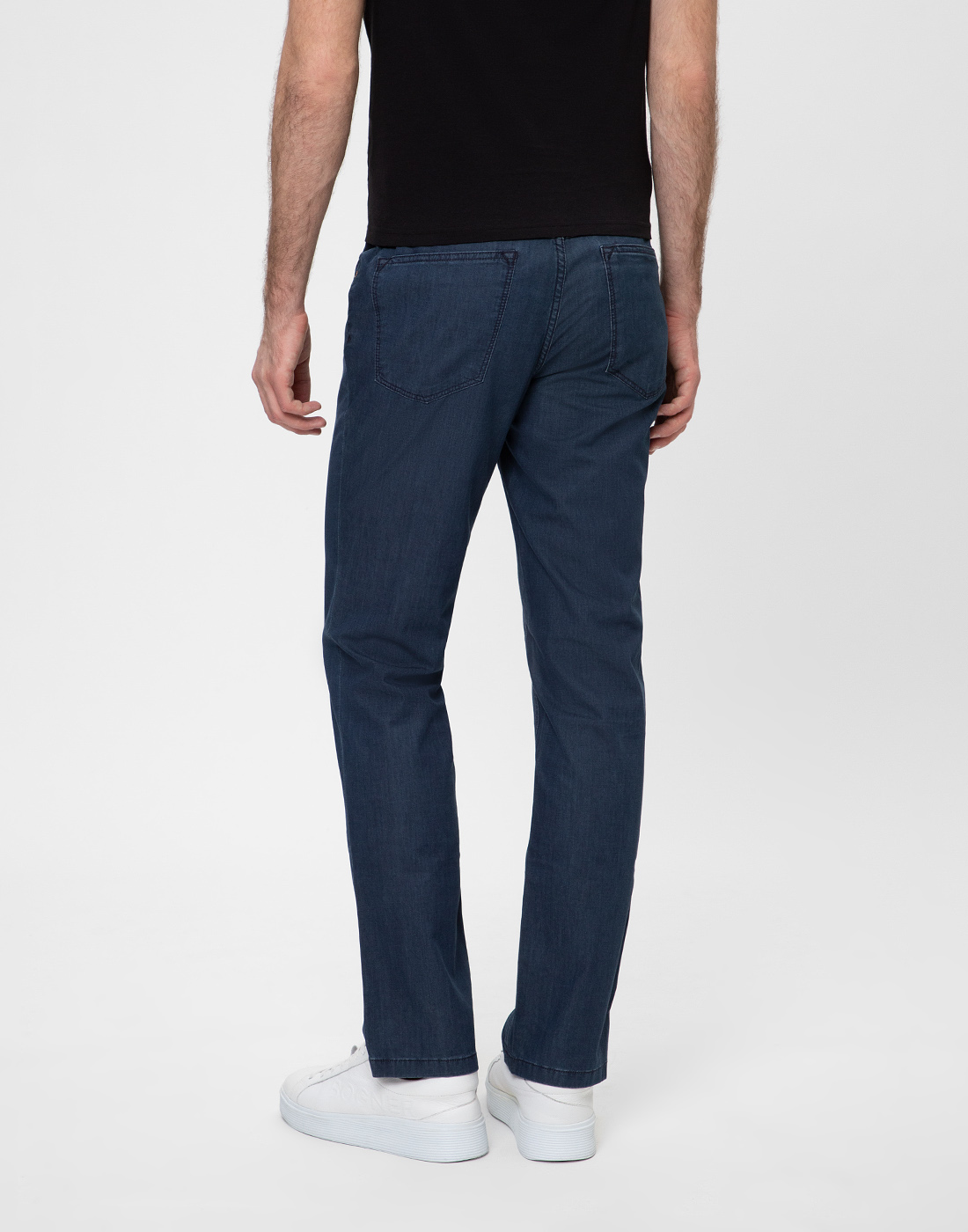 Мужские синие джинсы