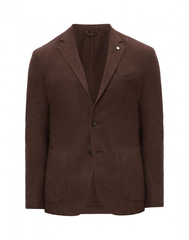 Пиджак коричневый мужской