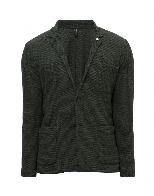 Пиджак зеленый мужской