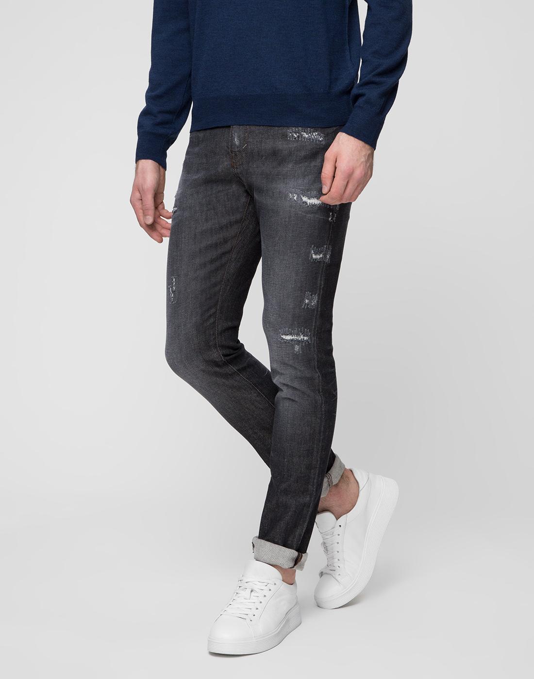 Мужские серый джинсы