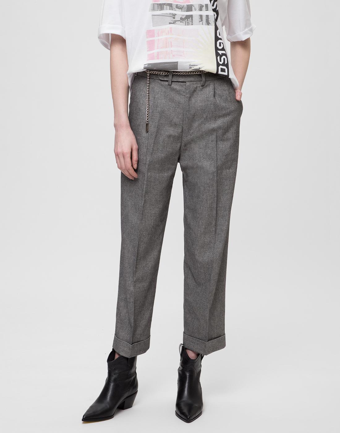 Женские серые брюки Tramarossa SO168-2
