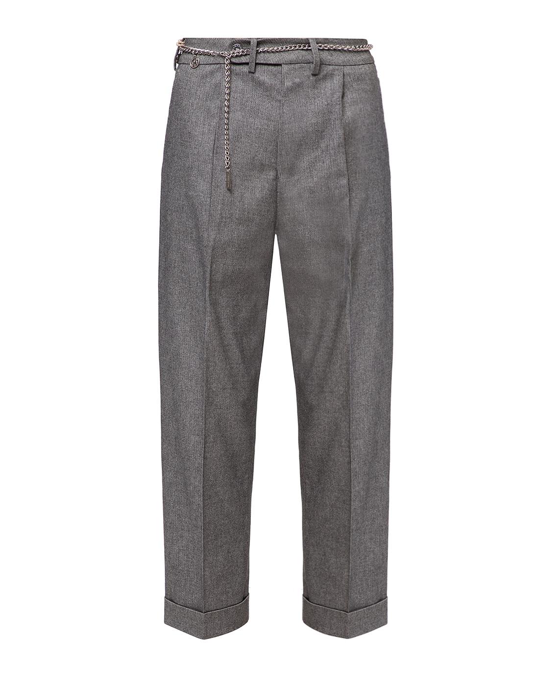 Женские серые брюки Tramarossa SO168-1