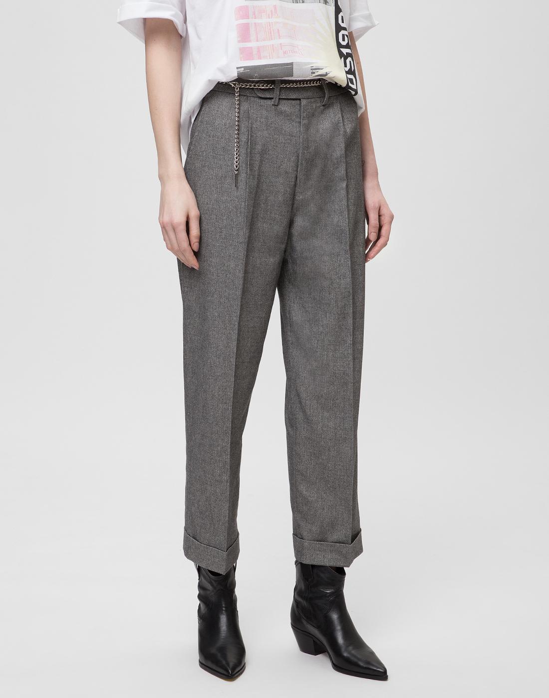 Женские серые брюки Tramarossa SO168-3