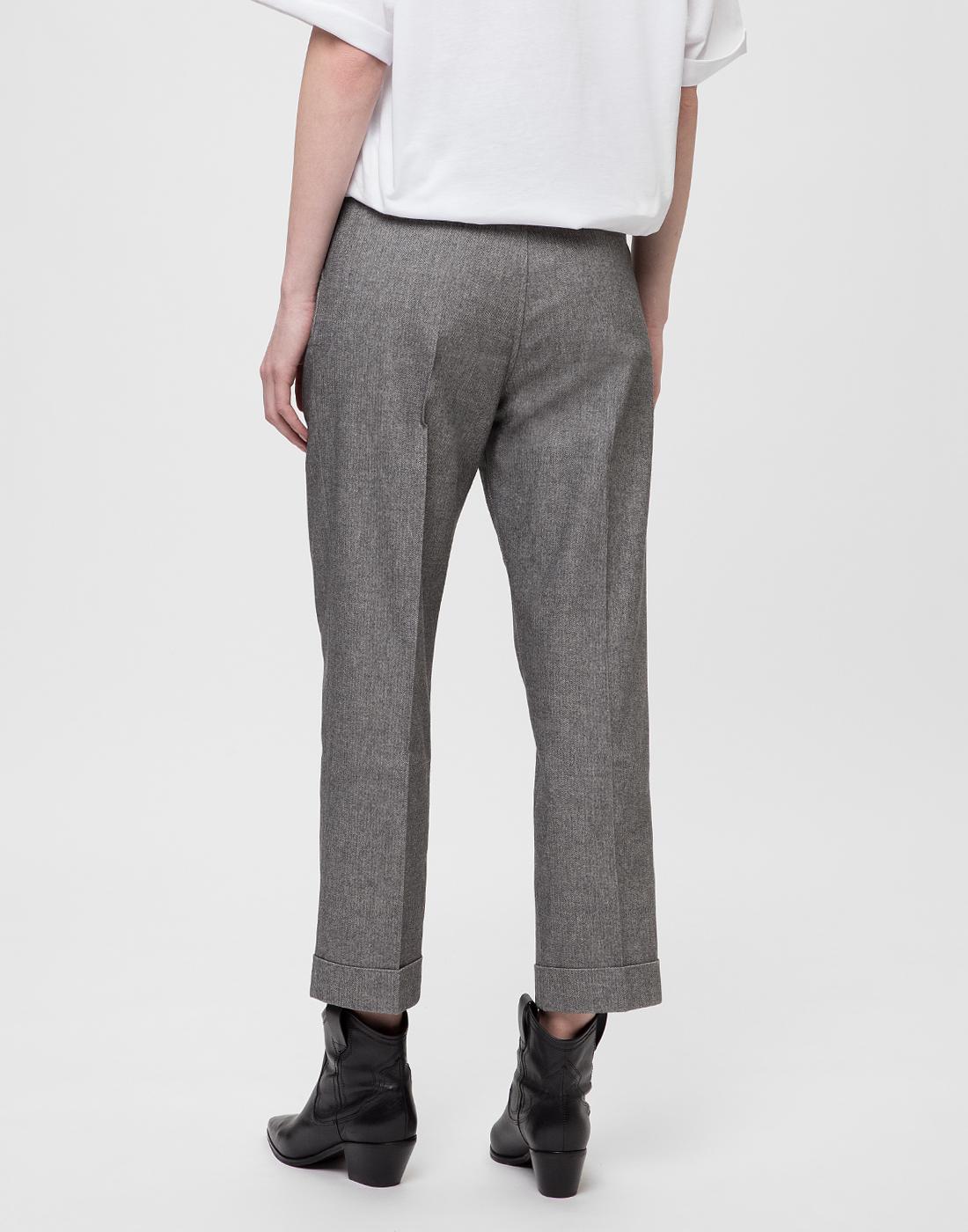 Женские серые брюки Tramarossa SO168-4