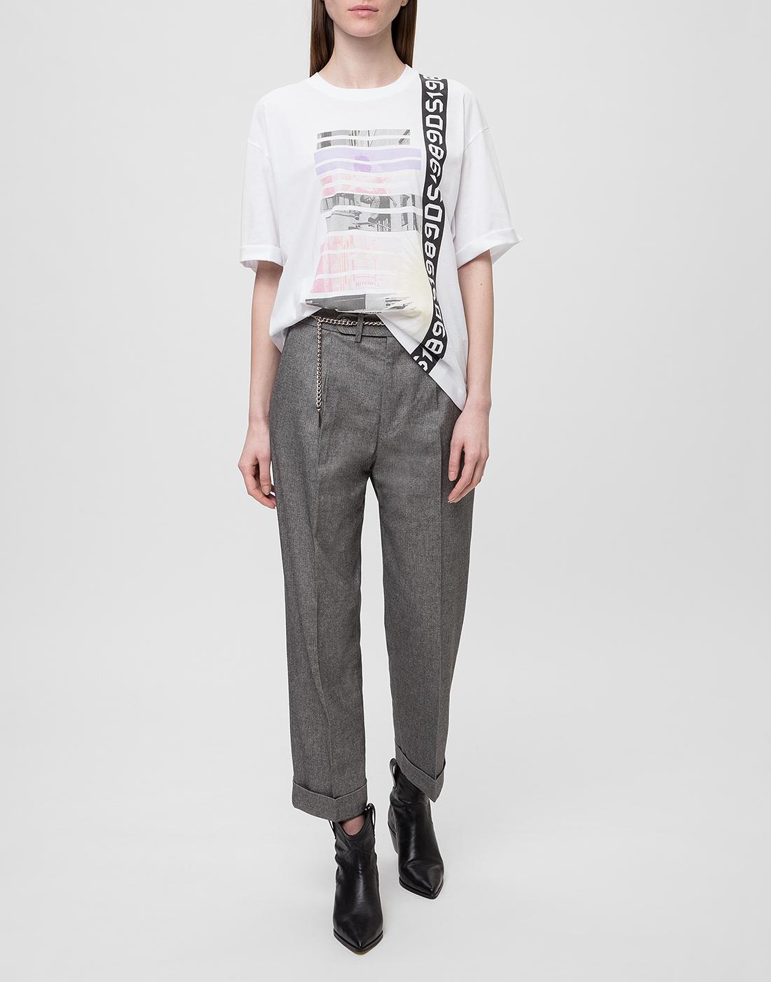 Женские серые брюки Tramarossa SO168-5