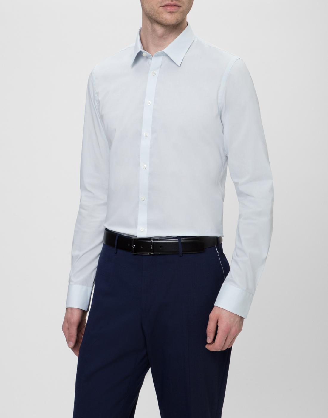 Мужская светло-голубая рубашка Profuomo SPP0H0D002-3