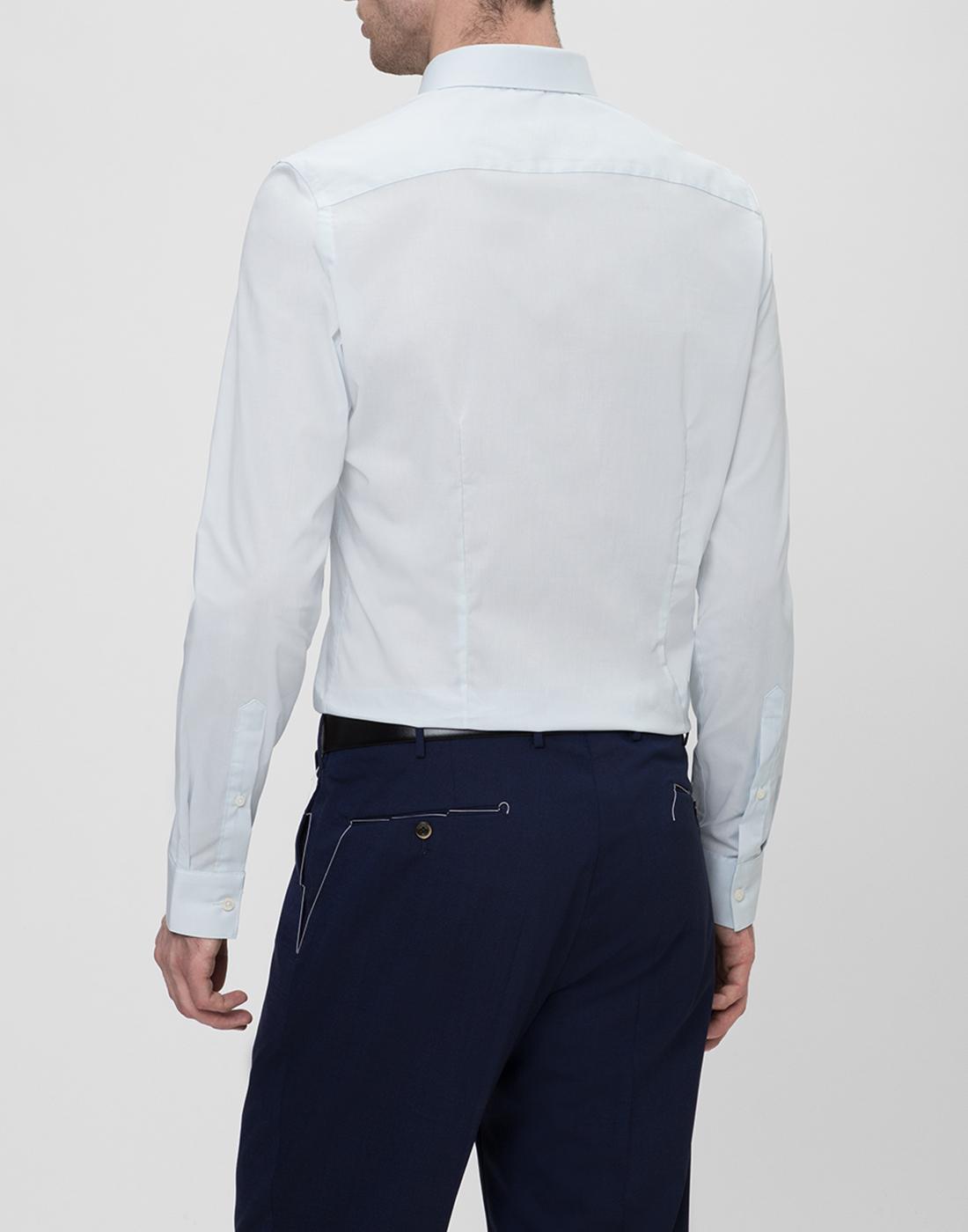 Мужская светло-голубая рубашка Profuomo SPP0H0D002-4