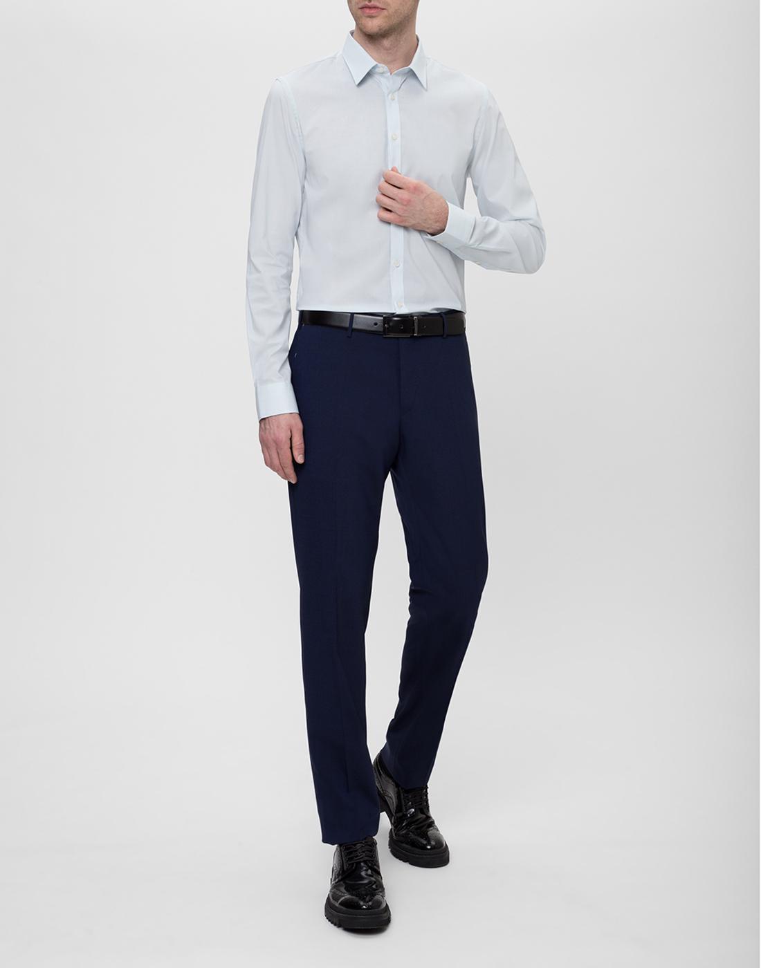 Мужская светло-голубая рубашка Profuomo SPP0H0D002-5