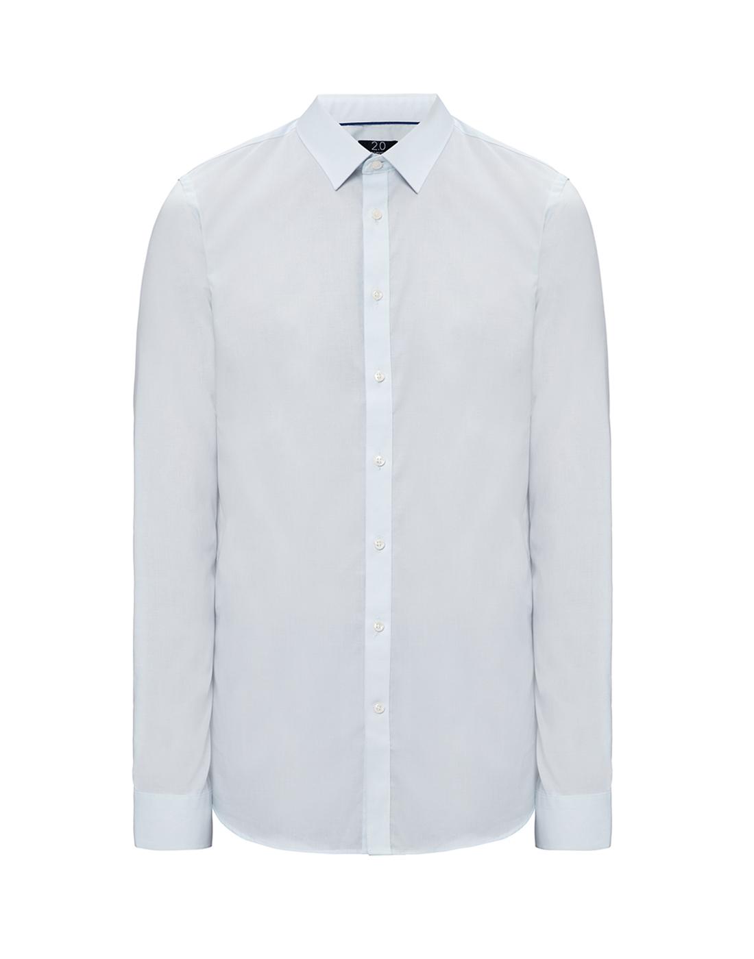 Мужская светло-голубая рубашка Profuomo SPP0H0D002-1