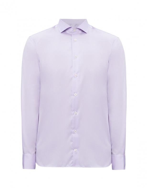 Мужская сиреневая рубашка