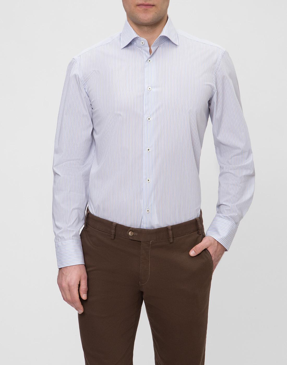 Мужская рубашка в полоску Van Laack SRIVARA-TFN 151570/007-2