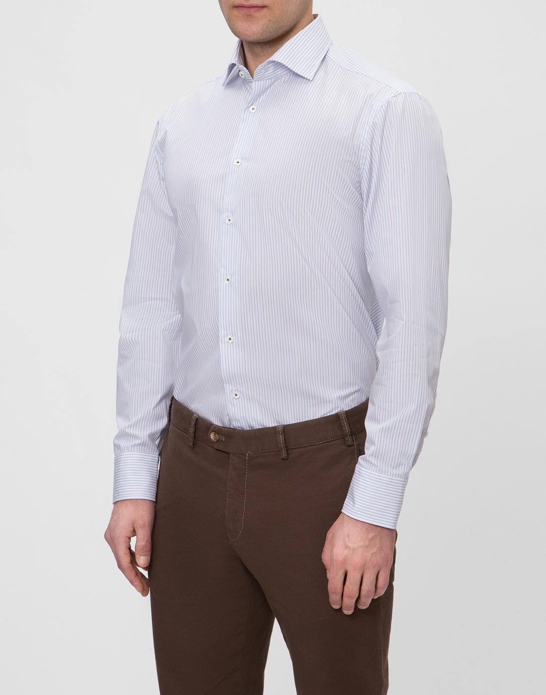 Мужская рубашка в полоску Van Laack SRIVARA-TFN 151570/007-3