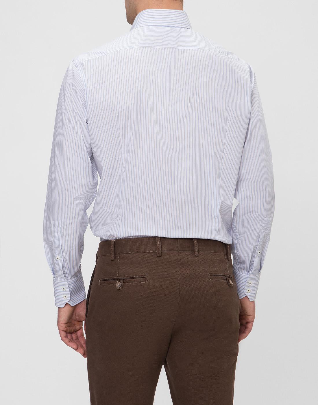 Мужская рубашка в полоску Van Laack SRIVARA-TFN 151570/007-4