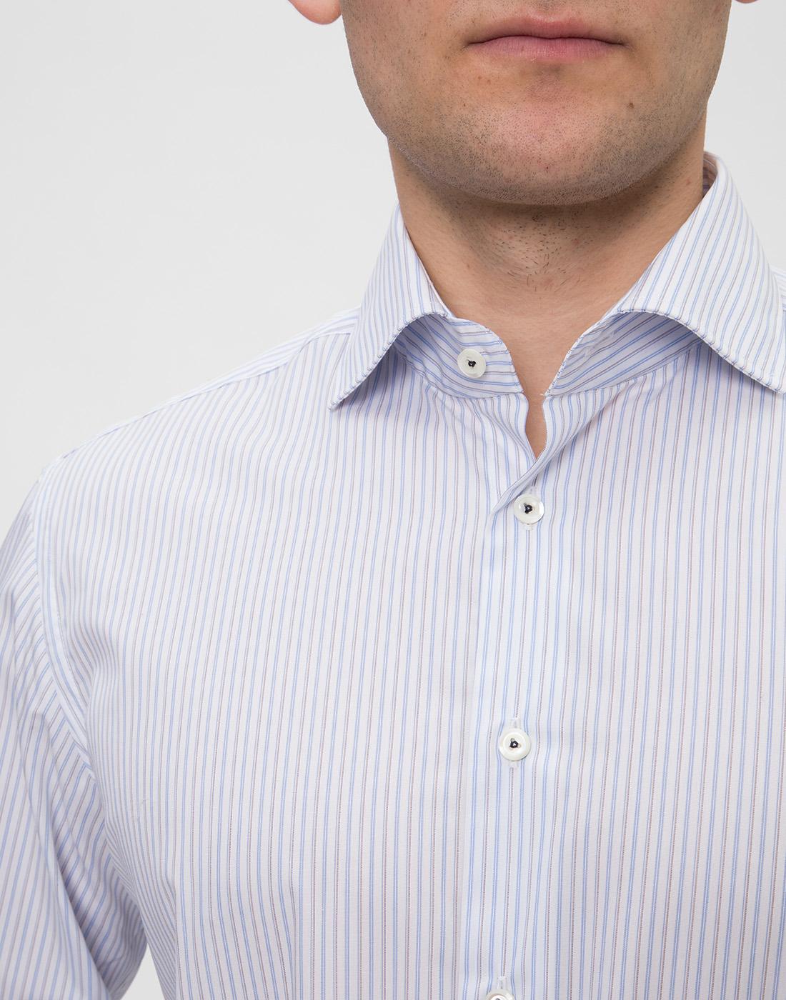 Мужская рубашка в полоску Van Laack SRIVARA-TFN 151570/007-6