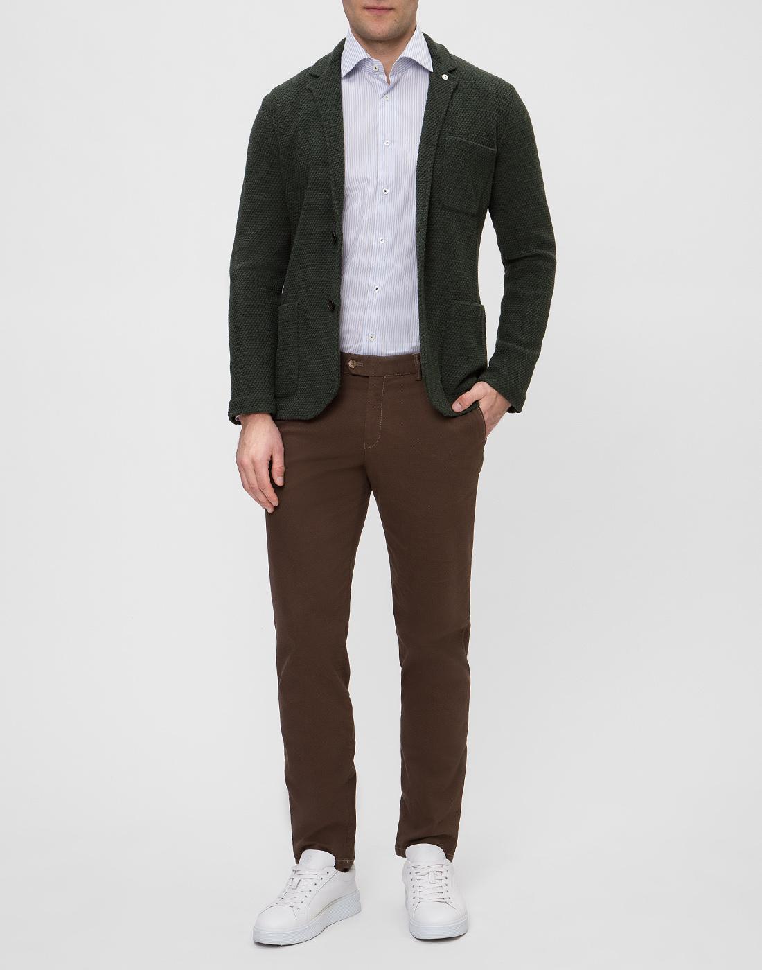Мужская рубашка в полоску Van Laack SRIVARA-TFN 151570/007-5