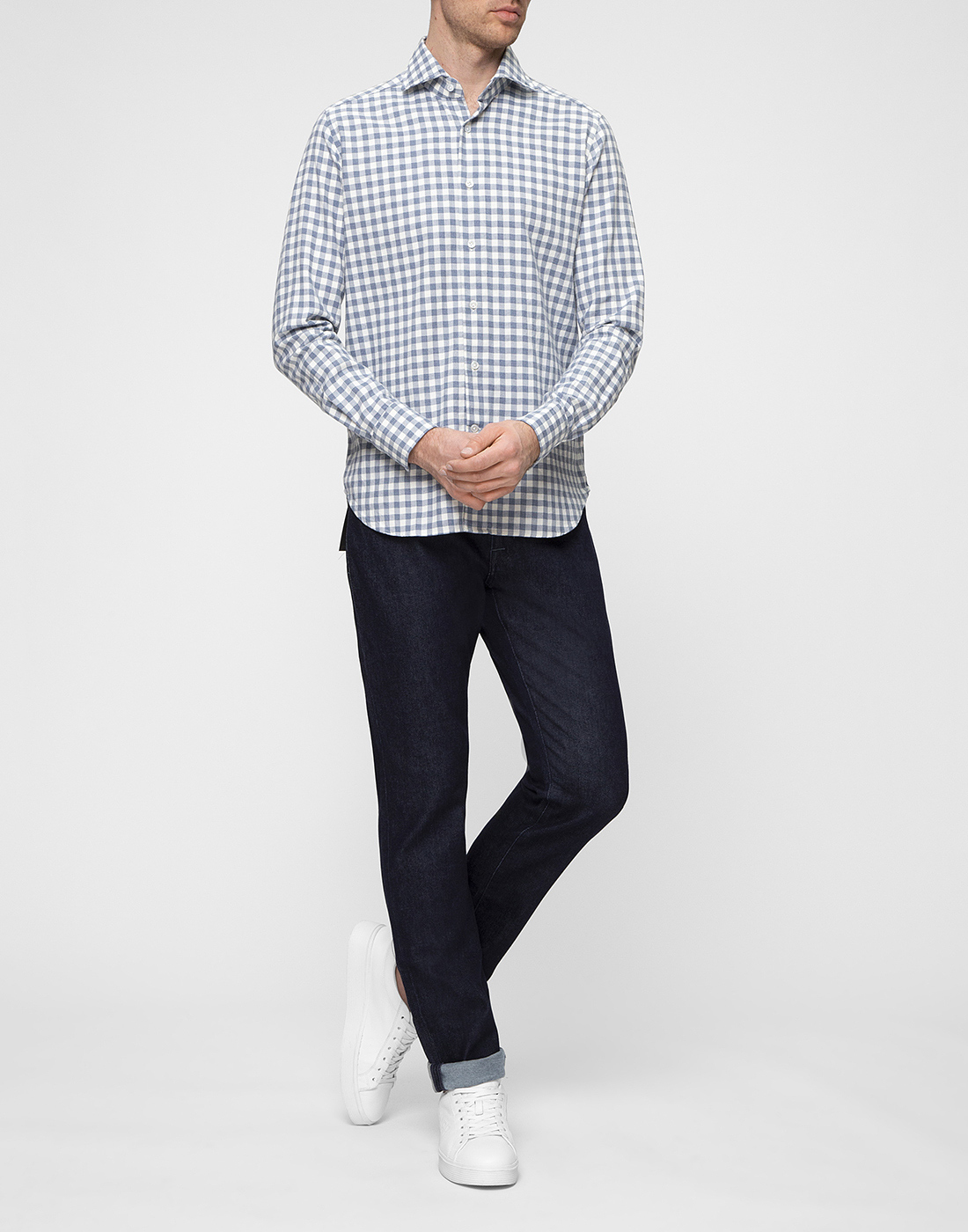 Мужские темно-синие джинсы PT SPJ05Z30GTL/OA13/SC65-5
